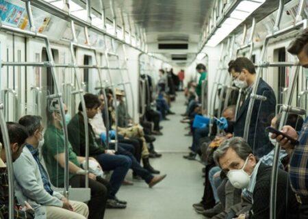 افزایش مسافران مترو با لغو دورکاریها
