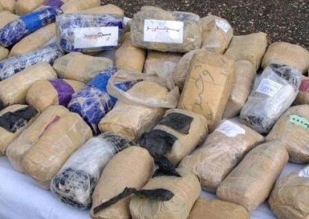 کشف بیش از ۱۵۰۰ کیلوگرم موادمخدر