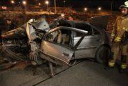 هفت مصدوم در پی تصادف دو خودرو سواری در قزوین
