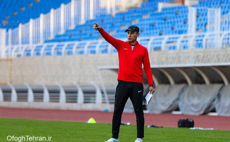 یحیی گلمحمدی در تدارک بازی دوستانه لیگ برتری