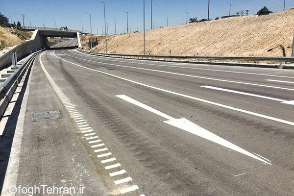 گشایش ترافیکی زیرگذر تقاطع بزرگراه آزادگان با بزرگراه شهید نجفی رستگار