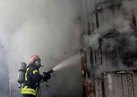 جزئیات آتشسوزی ساختمان تجاری خیابان جمهوری