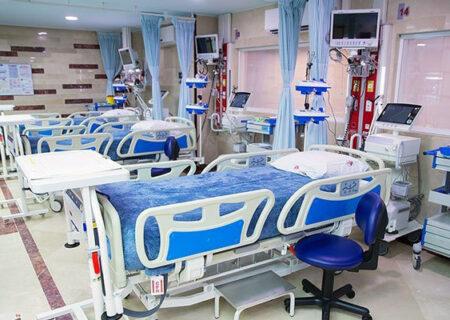 افزایش تخت های بیمارستانی به بیش از ۱۰ هزار عدد