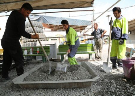 احداث باغ ایرانی سازور با ۷۰ درصد فضای سبز