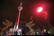 موسیقی زنده و نورافشانی عید غدیر در برج میلاد