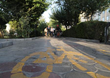 احداث ۱۷ کیلومتر مسیر ویژه دوچرخه در منطقه ۱۳