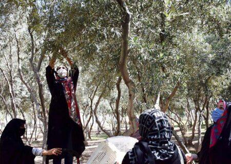 توانمند سازی اجتماع محور بانوان محله باغ آذری برای احیاء باغ زیتون