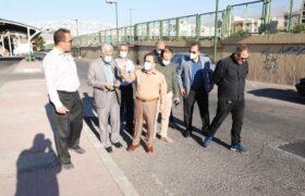 ارائه خدمات عمرانی ، ترافیکی و خدمات شهری در بزرگراه شهید یاسینی