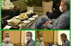 پیام تبریک فرمانده انتظامی تهران بزرگ برای انتصاب شهردار منطقه۱۴