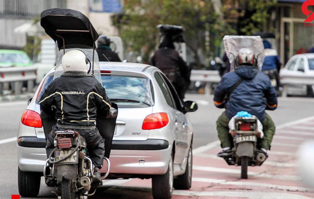 سرقت موتور سیکلت معضل حاد اجتماعی