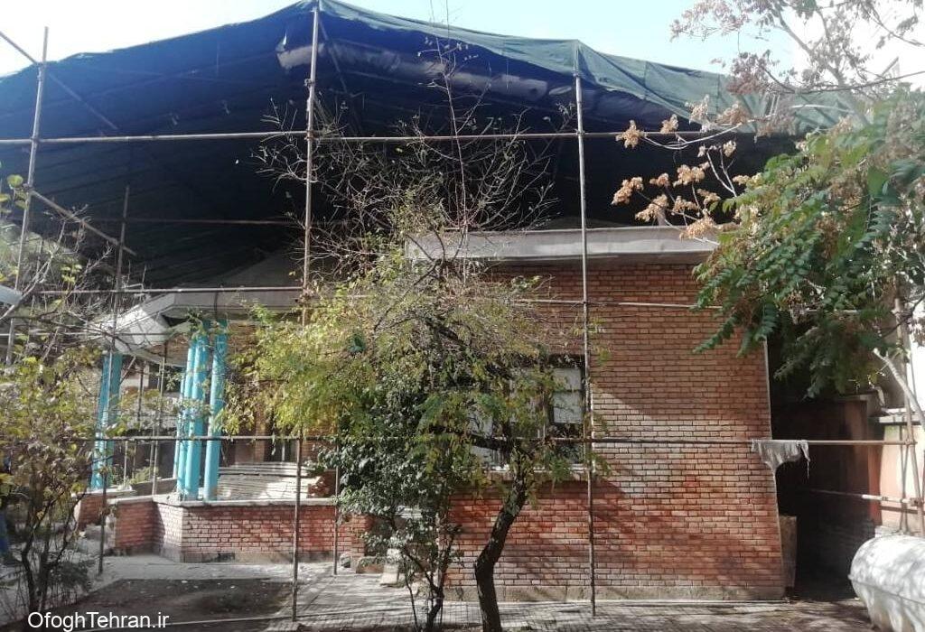 مرمت و احیای خانه نیمایوشیج