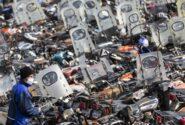 موتورسیکلتها منبع تولید ۱۰ درصد از آلاینده ذرات معلق تهران