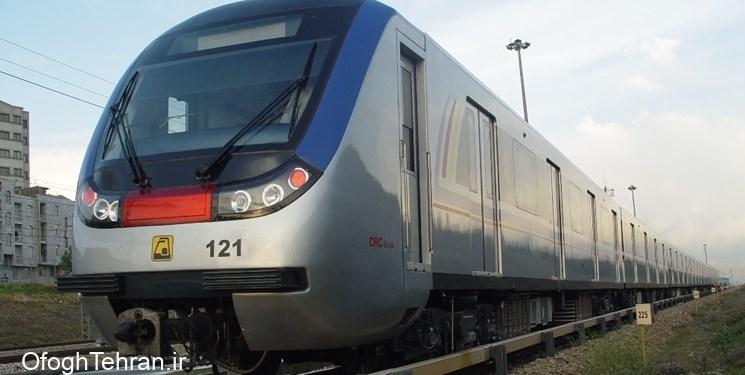 اضافه شدن ۱۰۵ واگن دیگر به مترو تهران
