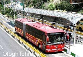 بهسازی و ساماندهی ایستگاه سامانه خط ۴ اتوبوسهای تندرو