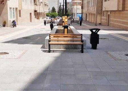 پیادهراه خیابان شهرداری در نوروز ۱۴۰۰ وارد فاز اجرا میشود