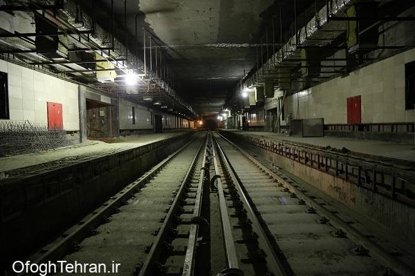 راهاندازی ایستگاه مترو میدان دریاچه چیتگر