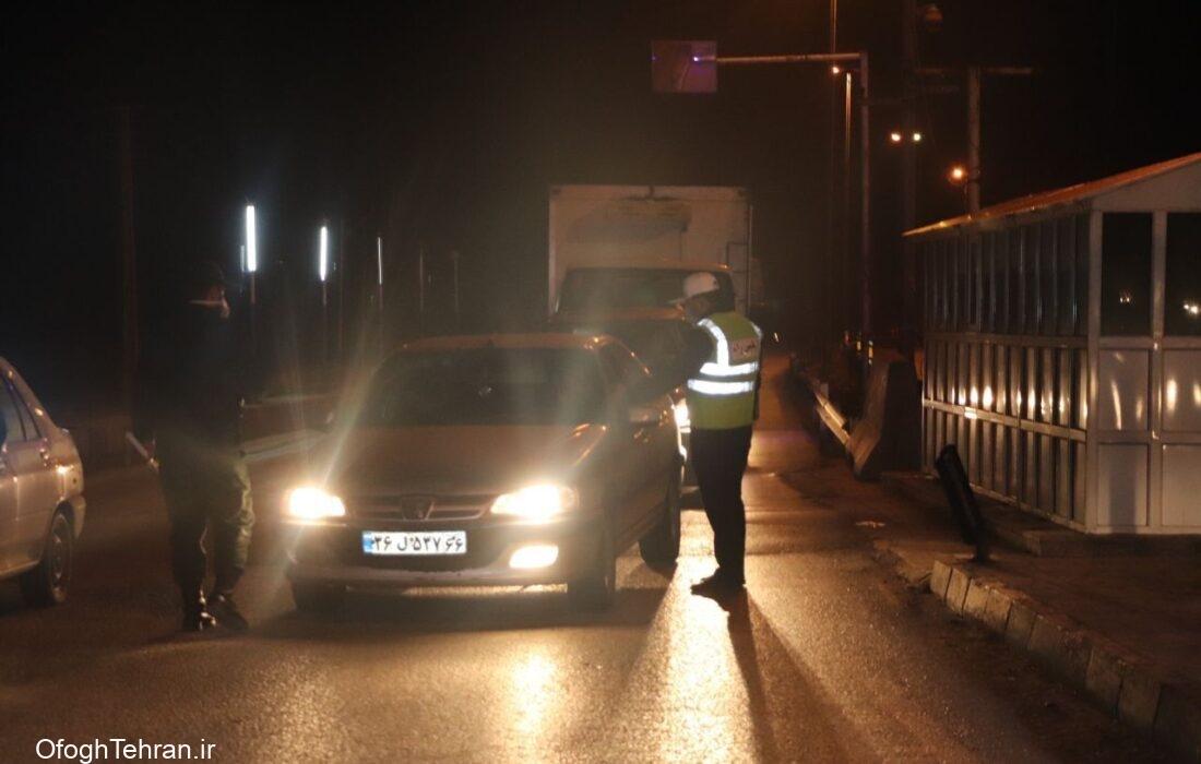 ادامه ممنوعیت تردد شبانه