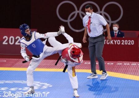 شکست و حذف هادیپور در مرحله یکچهارم نهایی المپیک