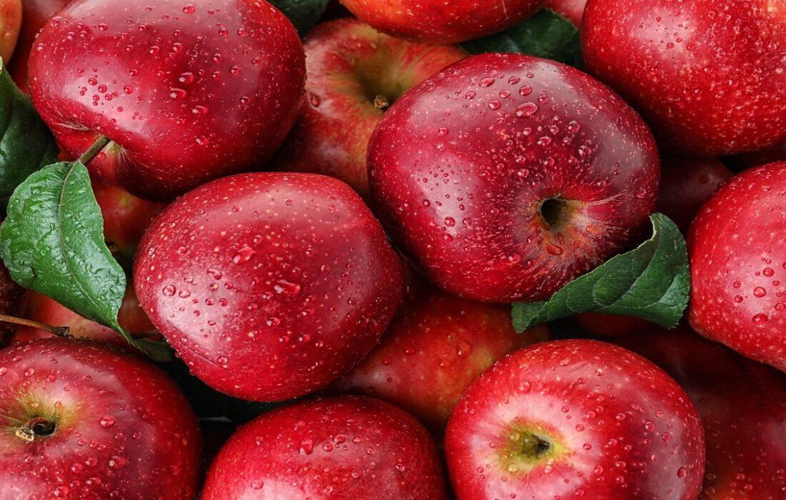 واردات موز در قبال صادرات سیب