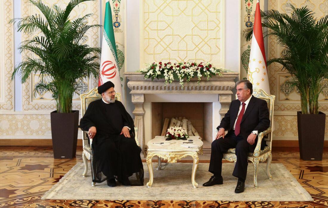 گسترش روابط و همکاریهای دوجانبه بین ایران و تاجیکستان